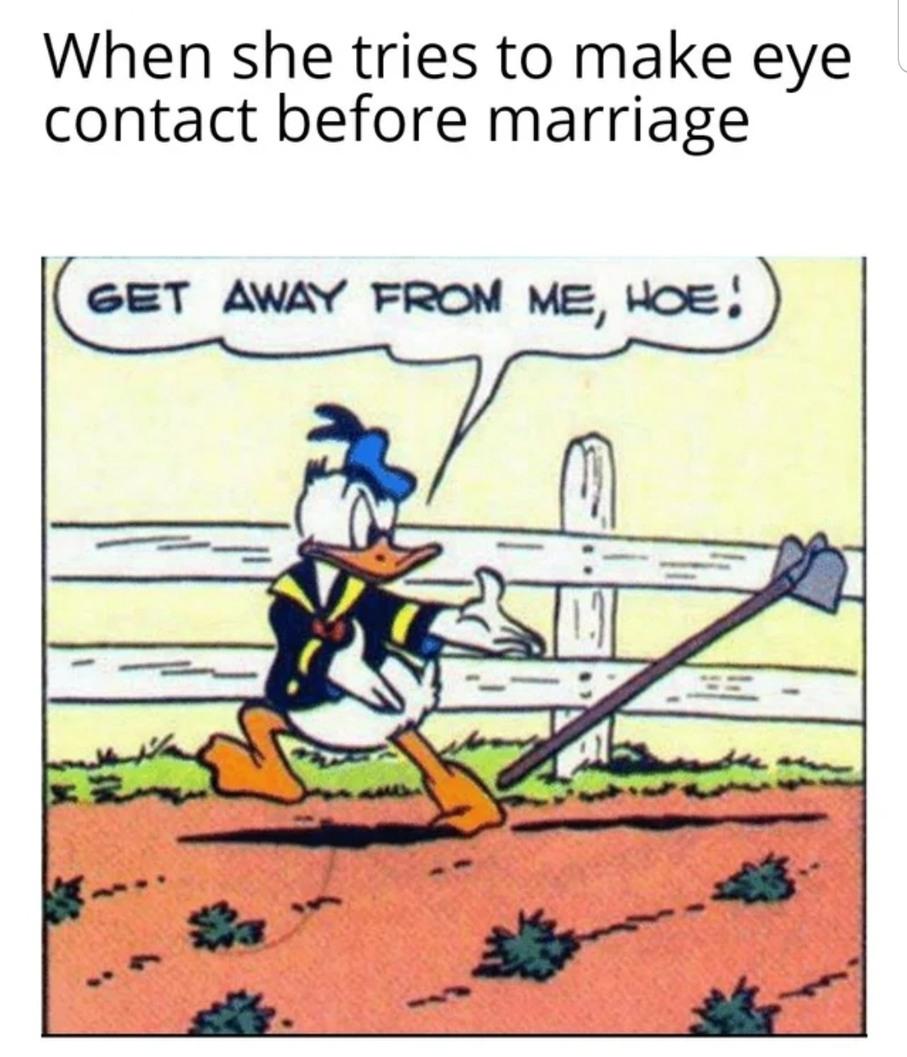 Dirty hoe - meme