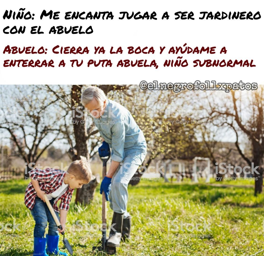 Abuelos - meme