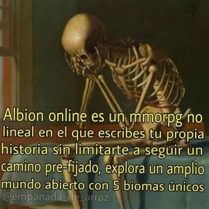 Albion online es un mmorpg no lineal en el que escribes tu propia historia - meme