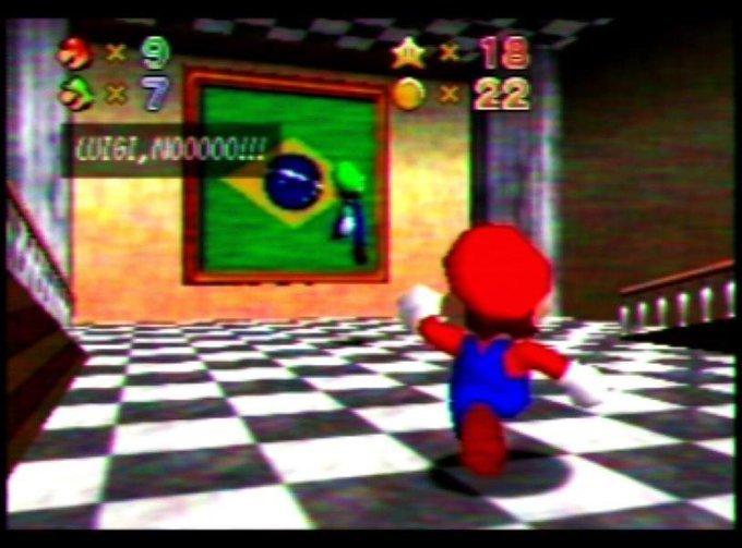 NINTENDO CHEGOU NO BRASIL - meme