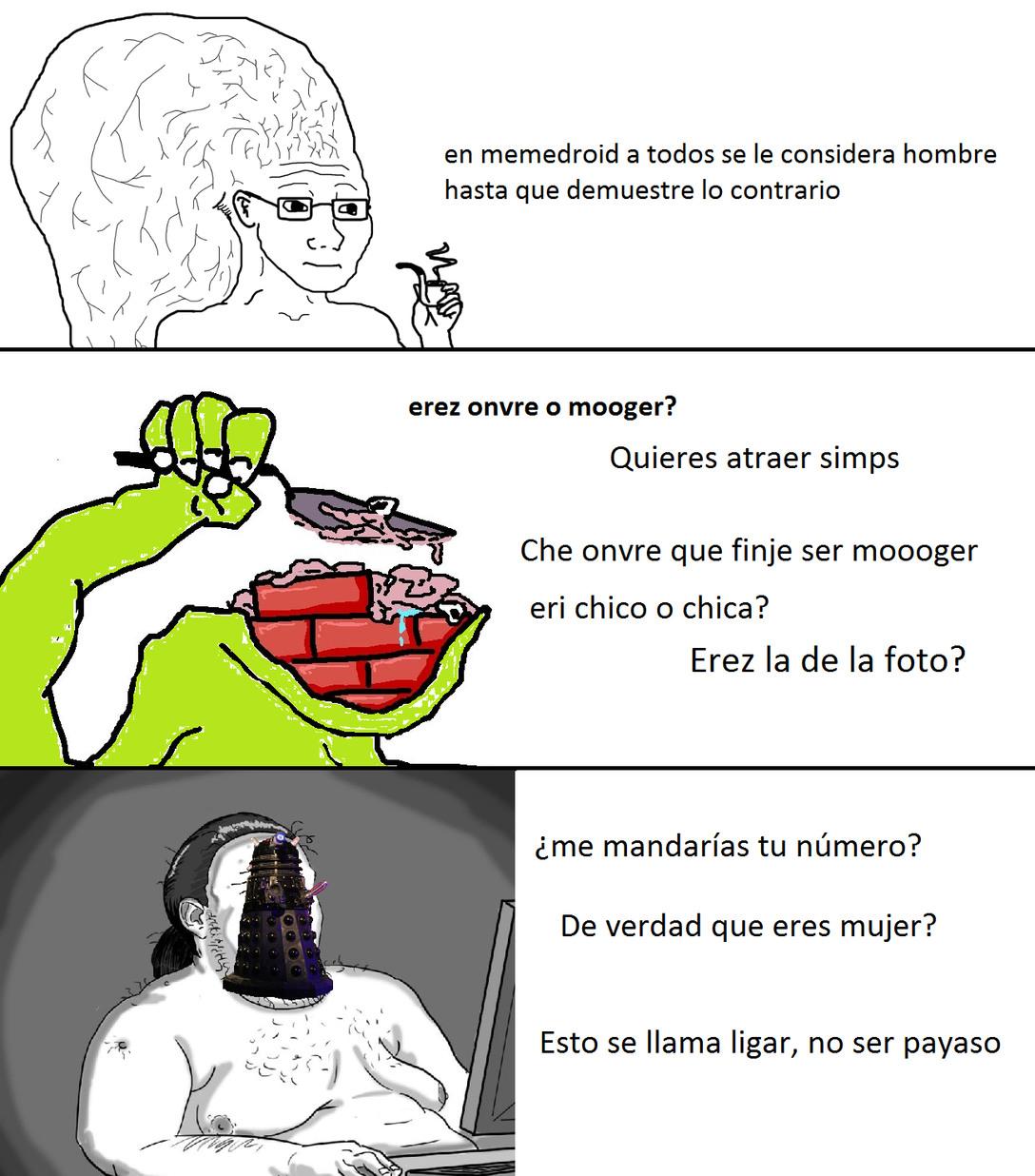 lo dice pasteldeautismo = no tengo argumentos - meme