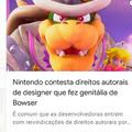Eu sei que notícia não é meme, mas puta que pariu Nintendo kkkk