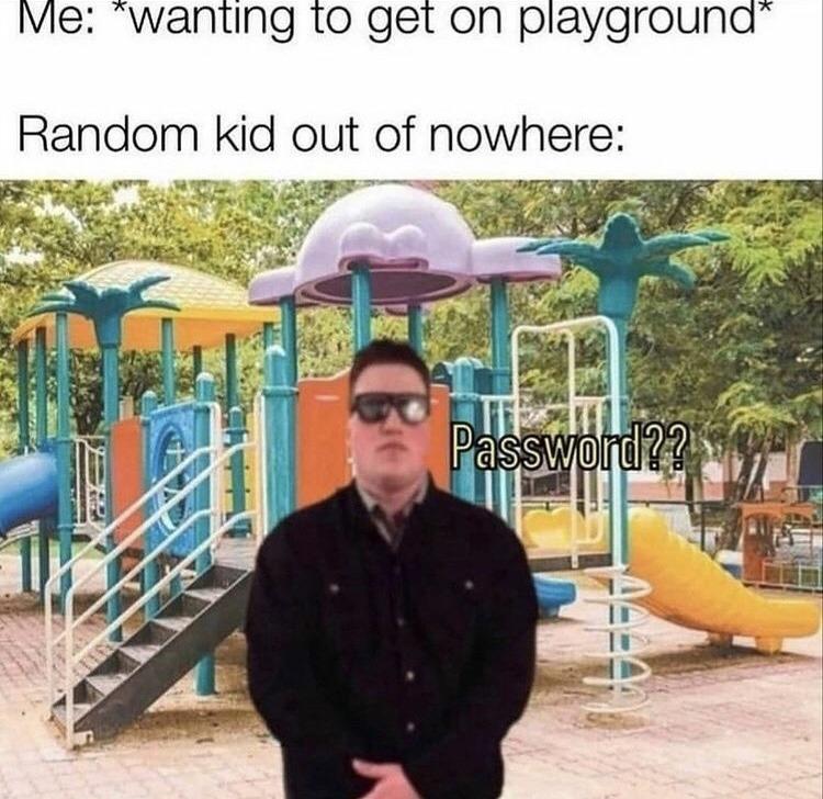 Password - meme