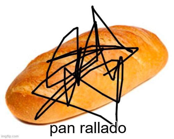 re chistoso es pan rallado porque es un pan con rayas soy el dios de la comedia matenme por favor - meme
