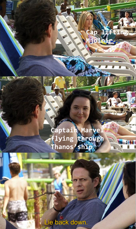 The Scene Was Okay, But Cap's Scene Had More Emotion To It - meme