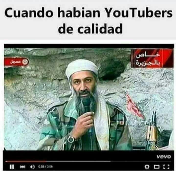 Un capo el bin laden - meme