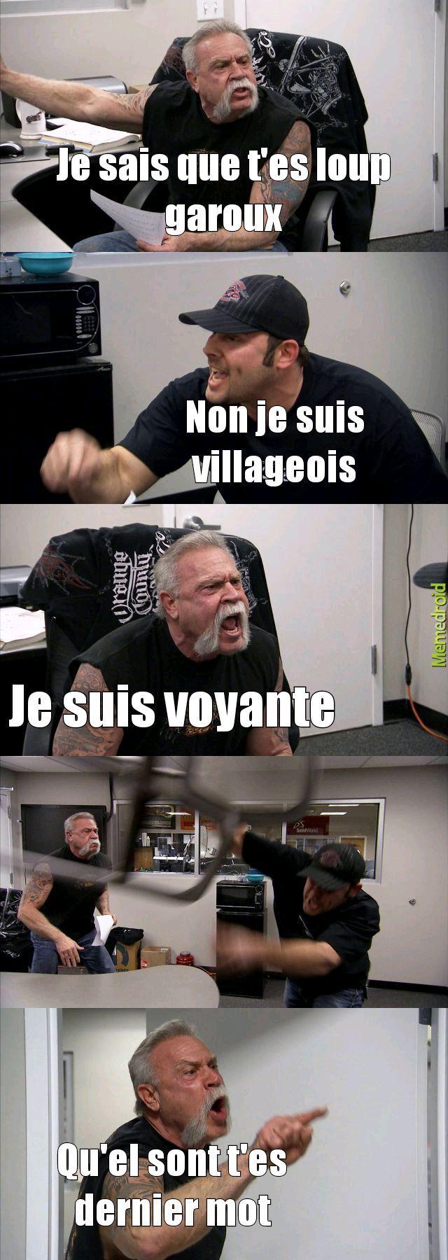 Loup garoux - meme
