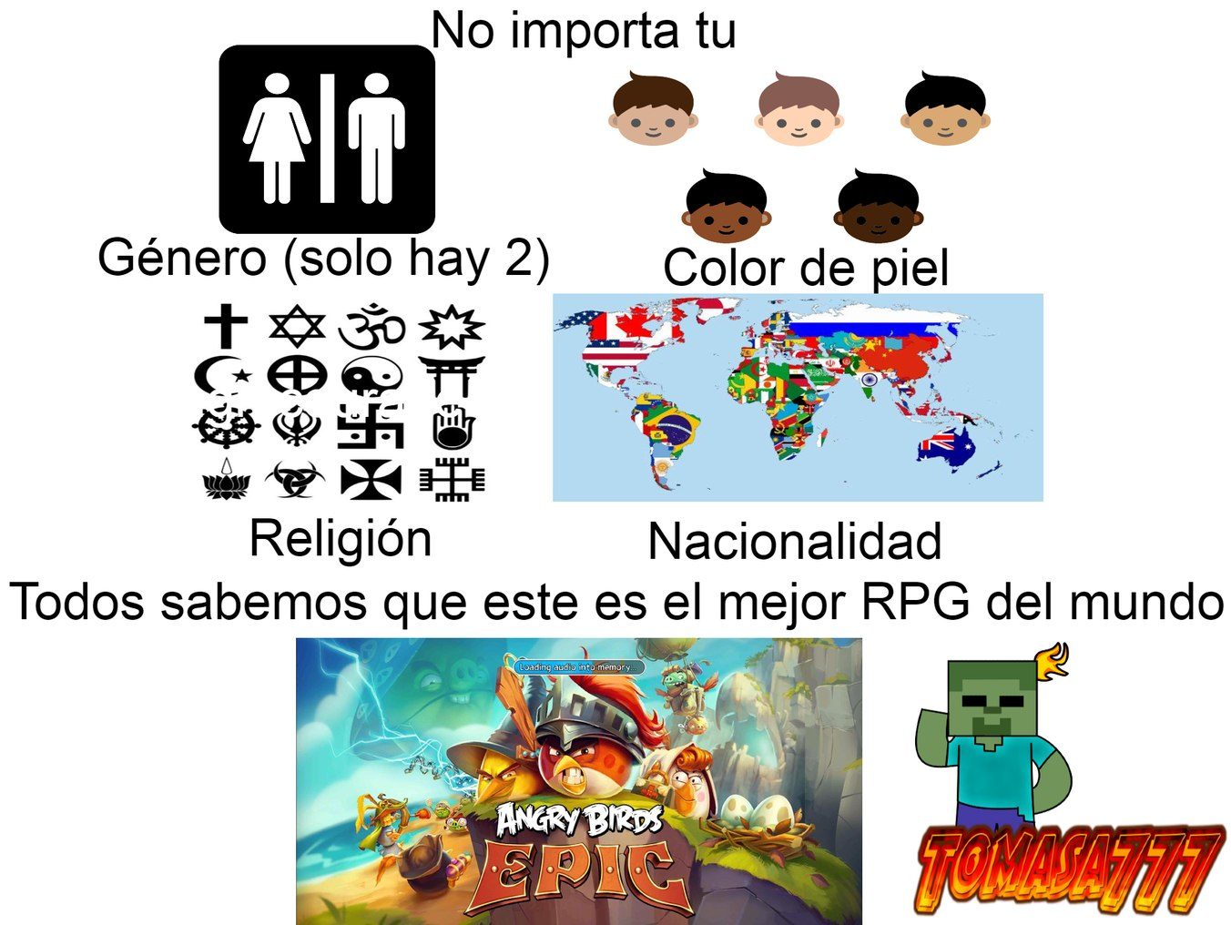 Juego EPICO - meme