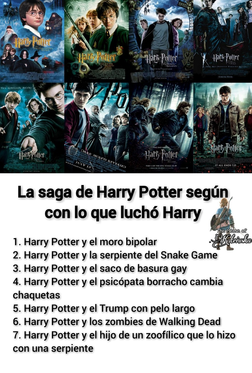 MEME HARRY POTTER