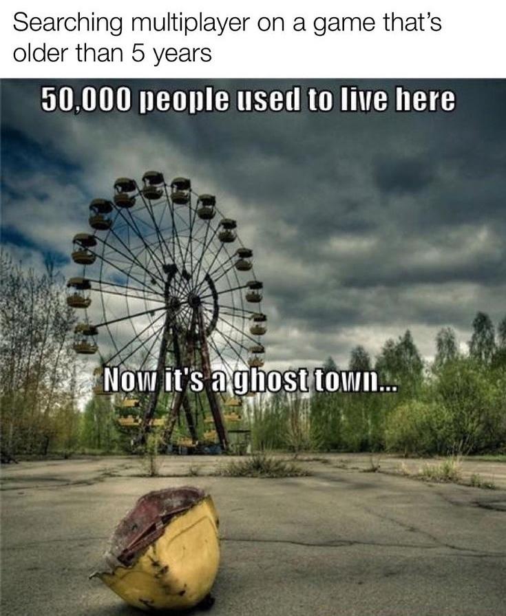 ghost town - meme