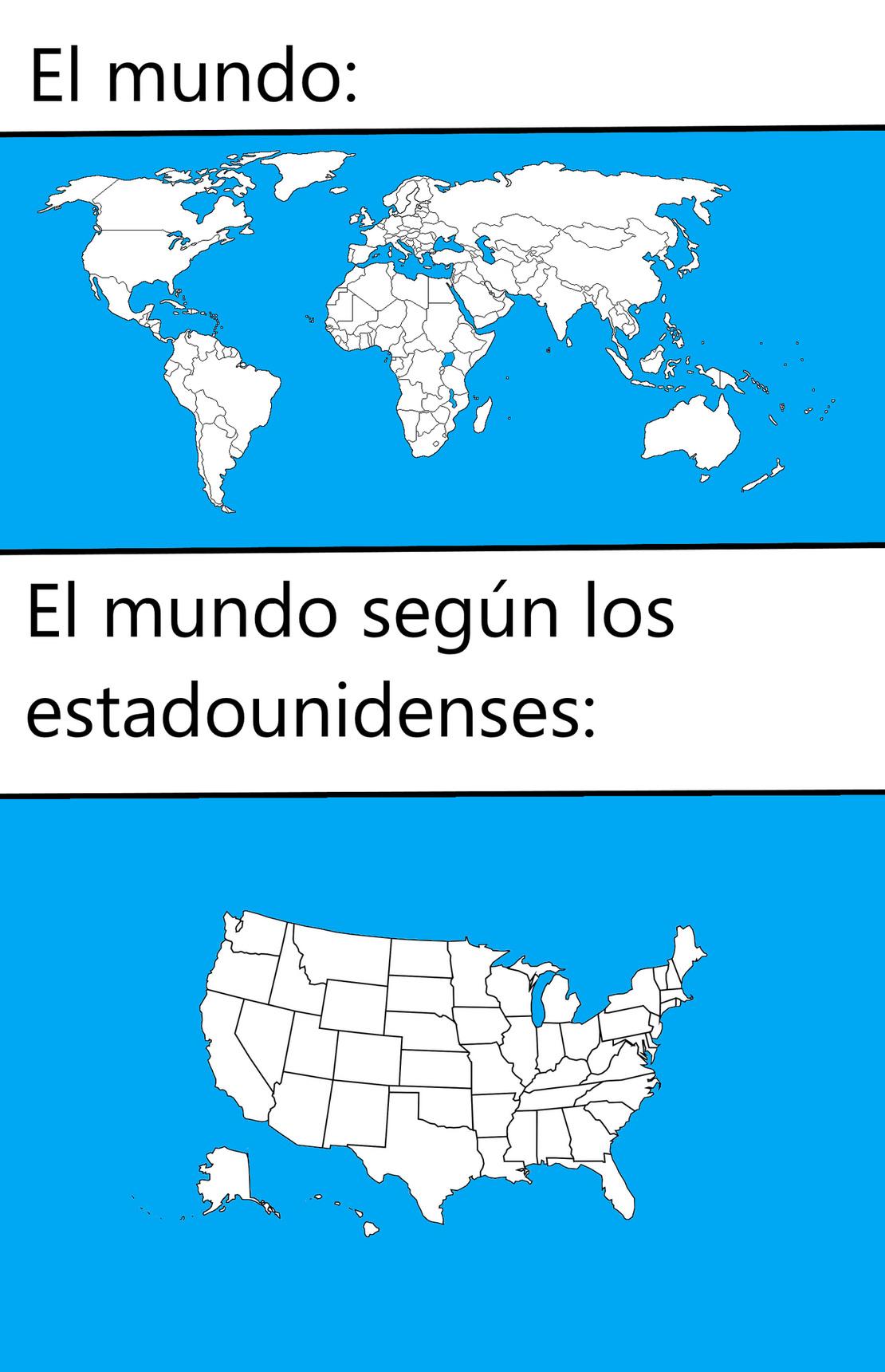 Estados Egoéntricos de América (EEEE) - meme