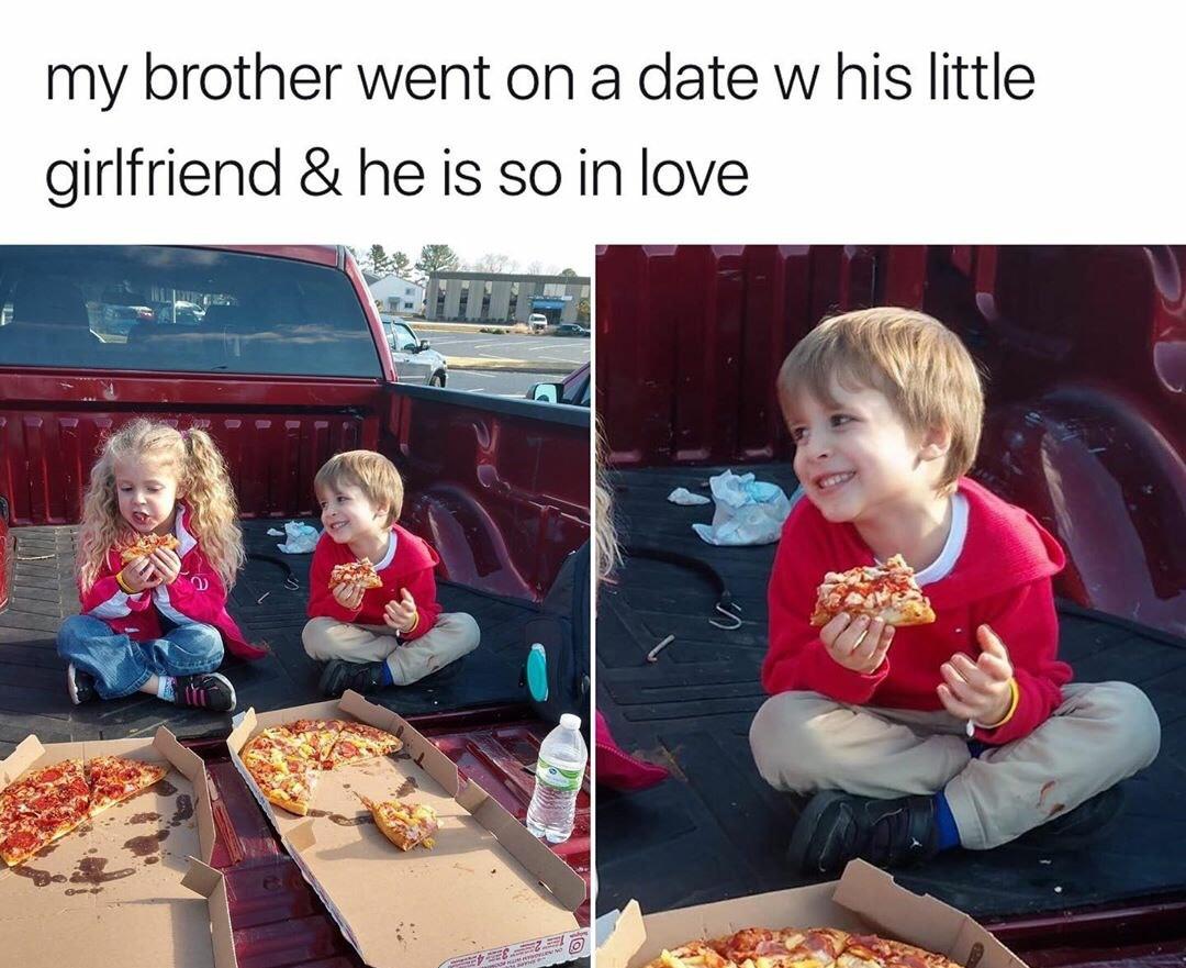 Pizza zoned - meme
