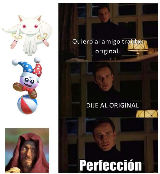 El Traidor Original - meme