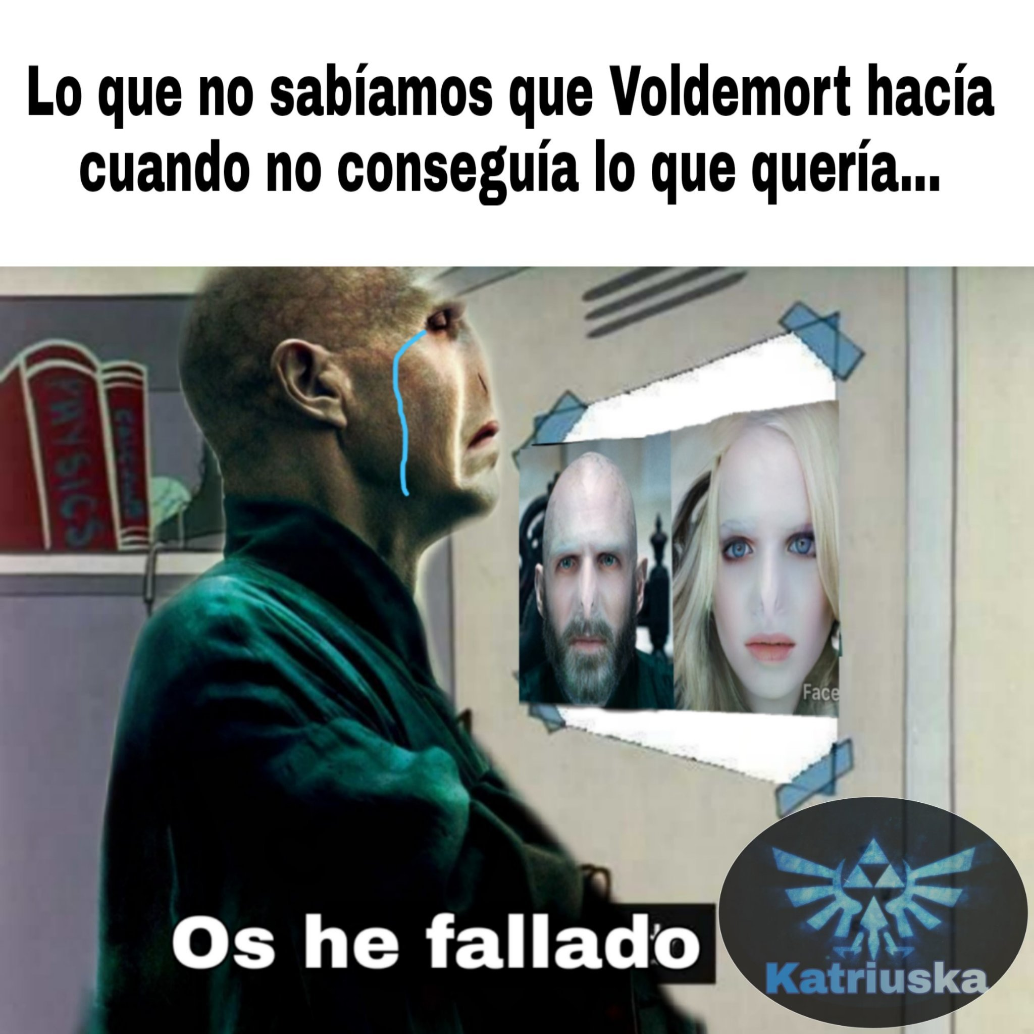Voldemort y sus secretos - meme