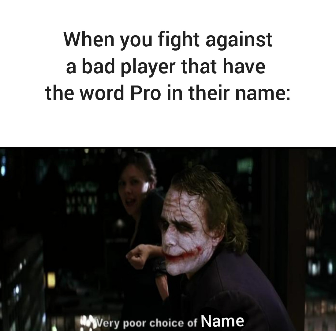 Are they pro? - meme