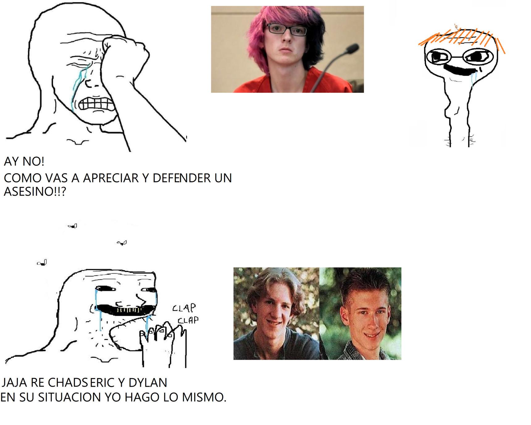 Si no fuera gay ni les hubiese importado el tipo - meme
