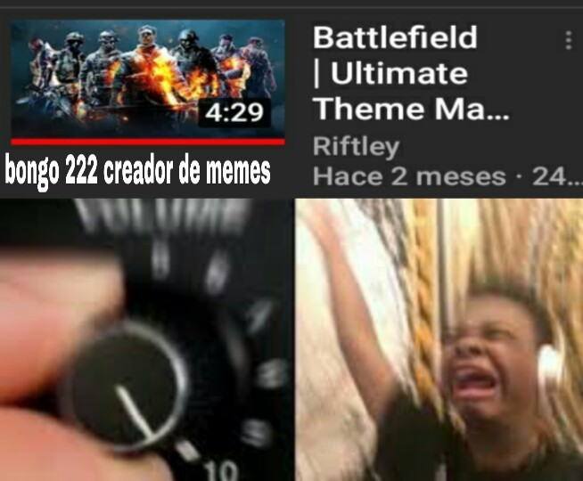 Battlefield remix - meme