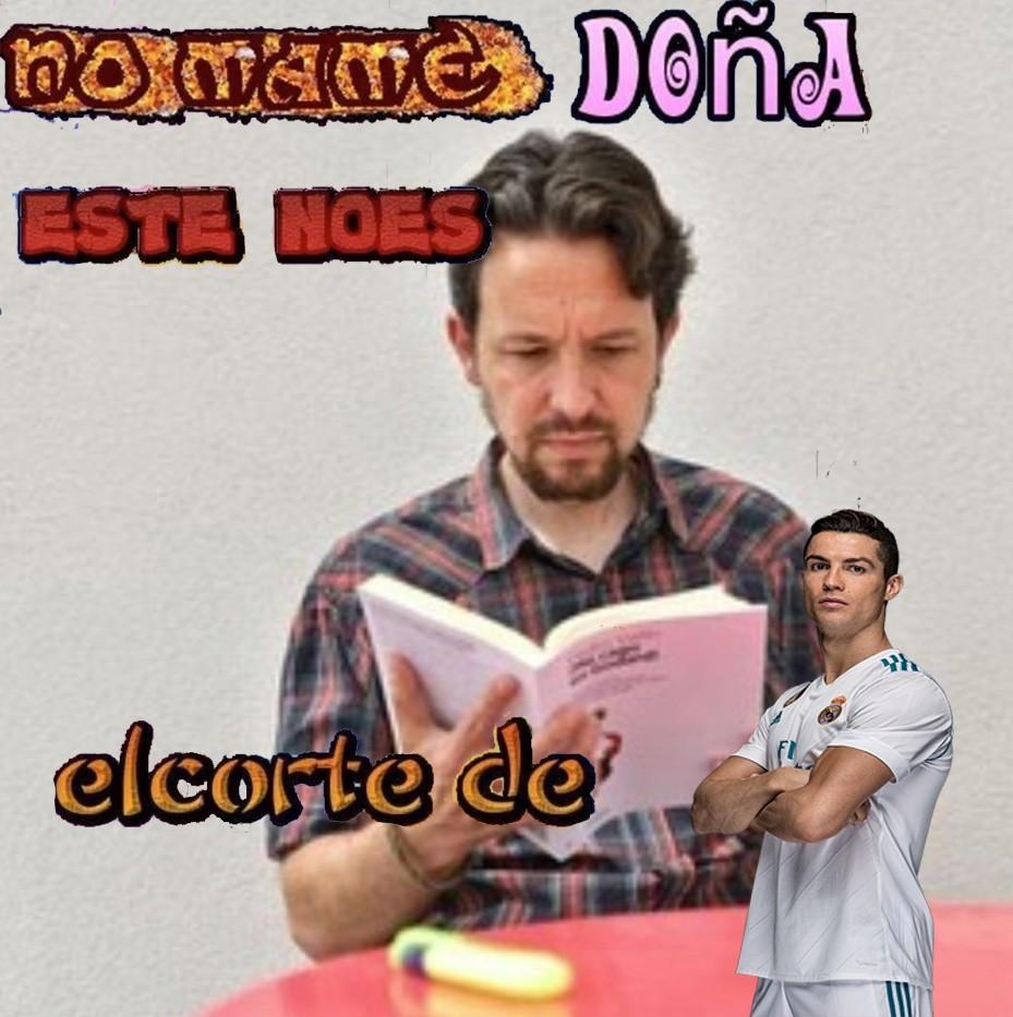 Pablo Iglesias - meme
