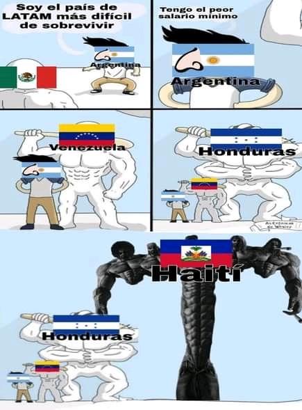 El título se fue a Haití - meme