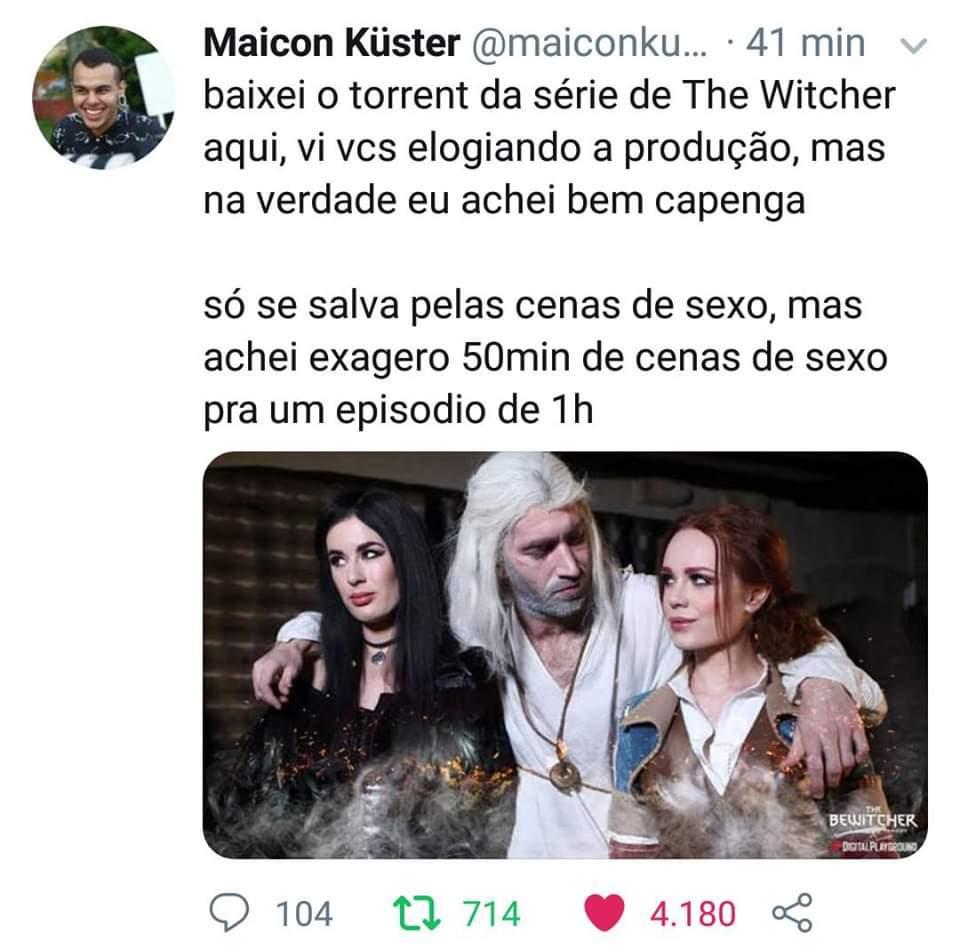 Serie FODA - meme