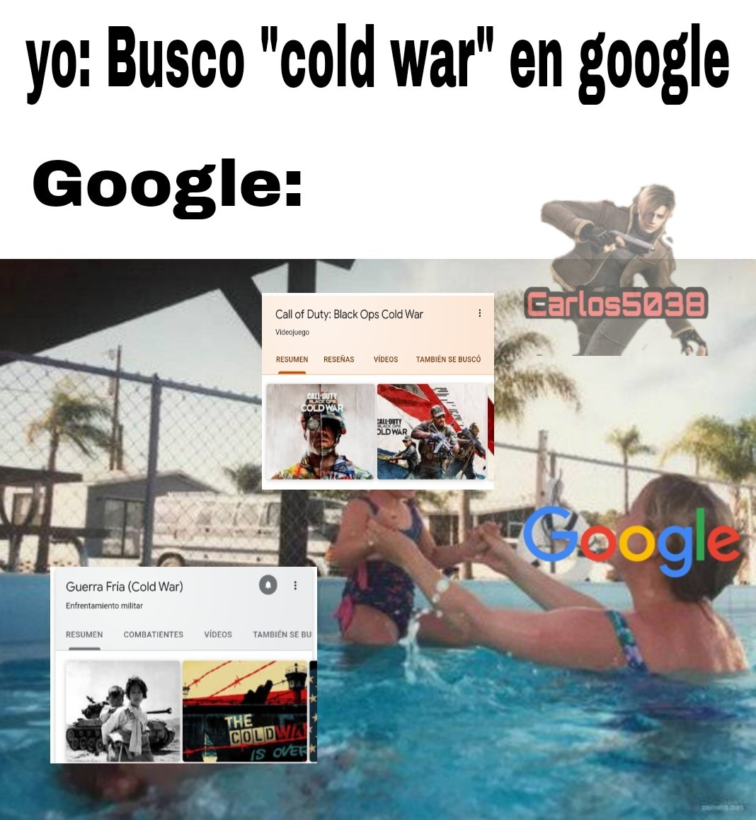 Google gamer :greek: PD: Nueva marca de agua :son: - meme