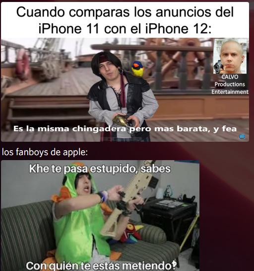 Cuando compraras los anuncios del iPhone 11 con el iPhone 12 - meme