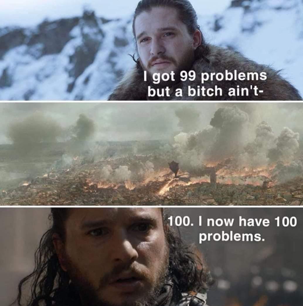 Bitch gon crazy - meme