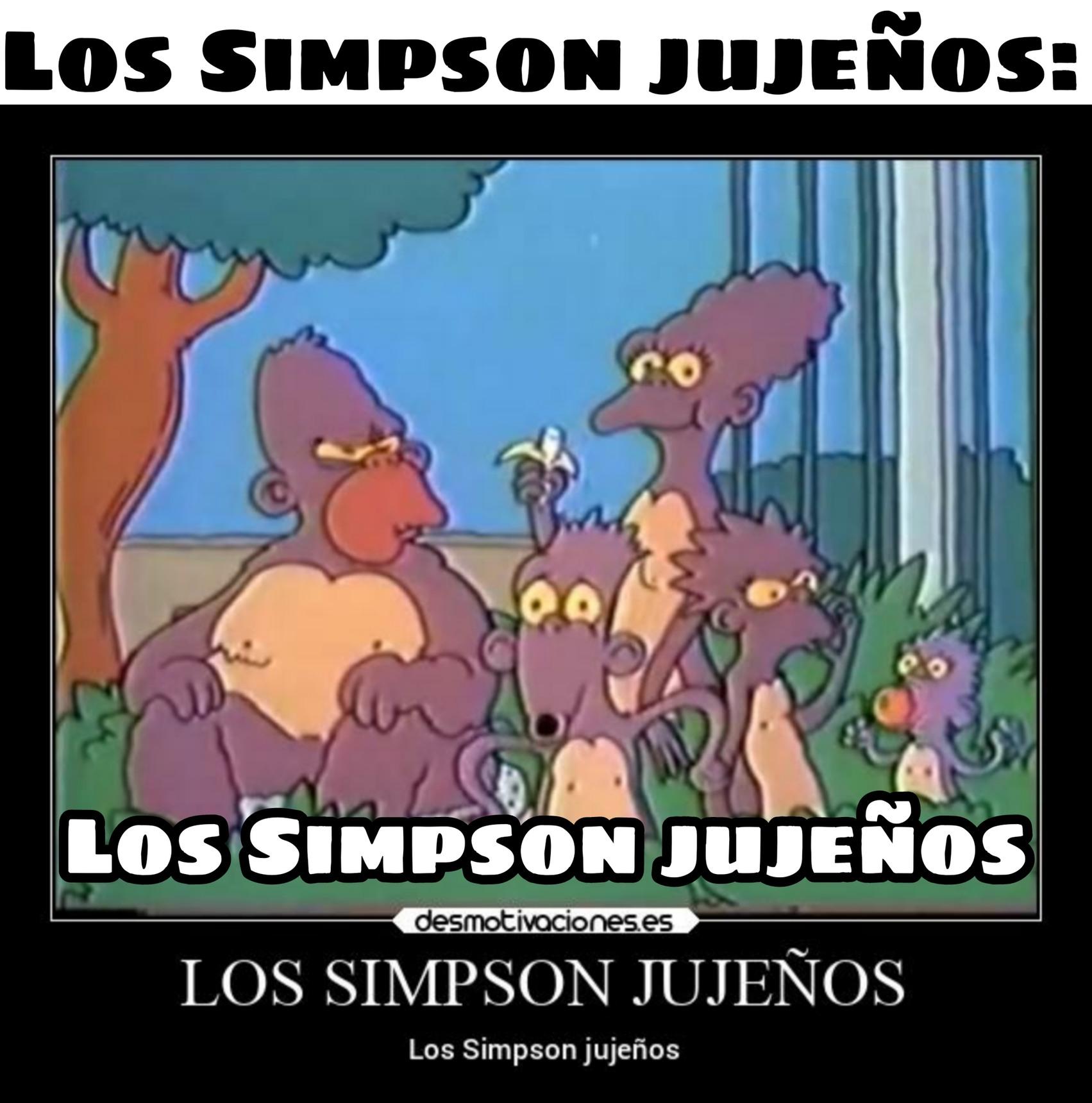 LOS SIMPSON JUJEÑOS - meme