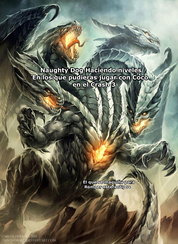 Juegazo el Crash 3 - meme