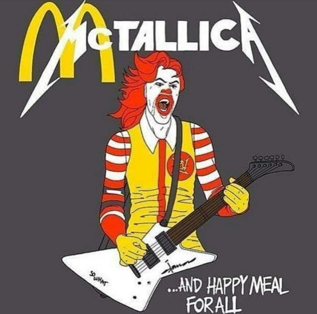 Team Mcdo ou team Metallica ? - meme