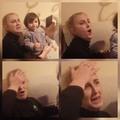 madre reaccionando a nude de siu hij@