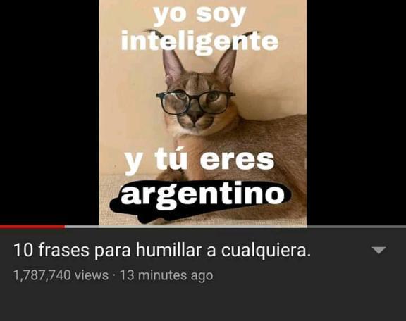 argentino - meme
