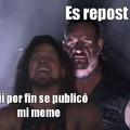 La tuya put@ no es repost put@