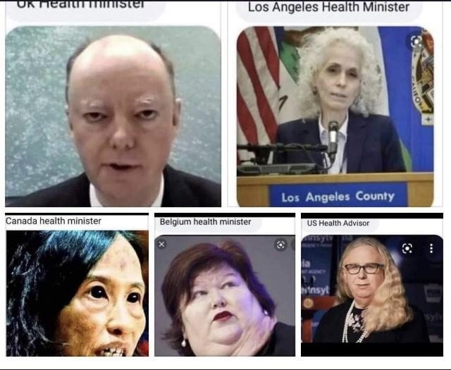 The people in charge of national health around the world... Literal demons! Lol - meme