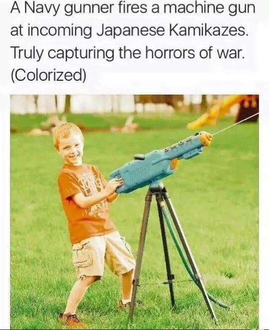 Japanese Gunner - meme