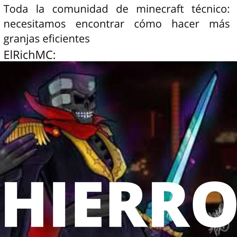 HIERRO. - meme