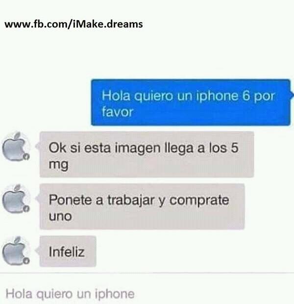 Jajaja puto Apple - meme