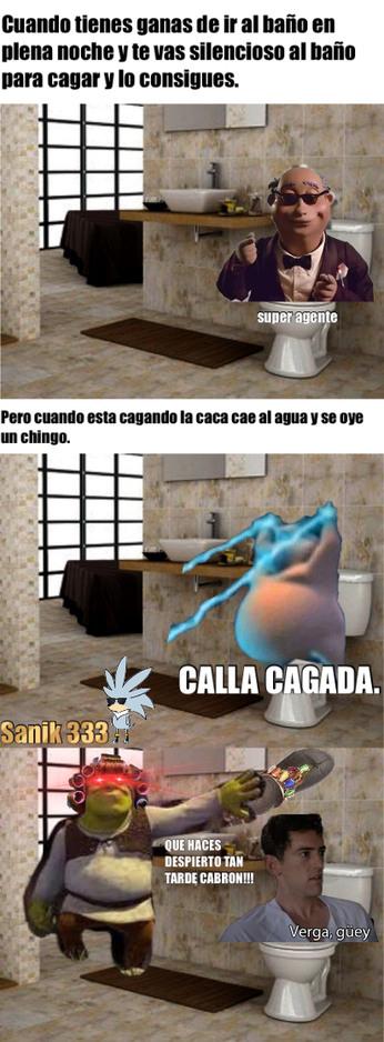 No se que tengo con los memes de baño...