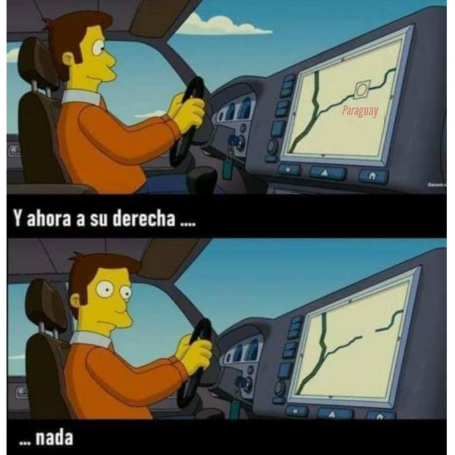 Creo que sucede lo mismo con Uruguay - meme