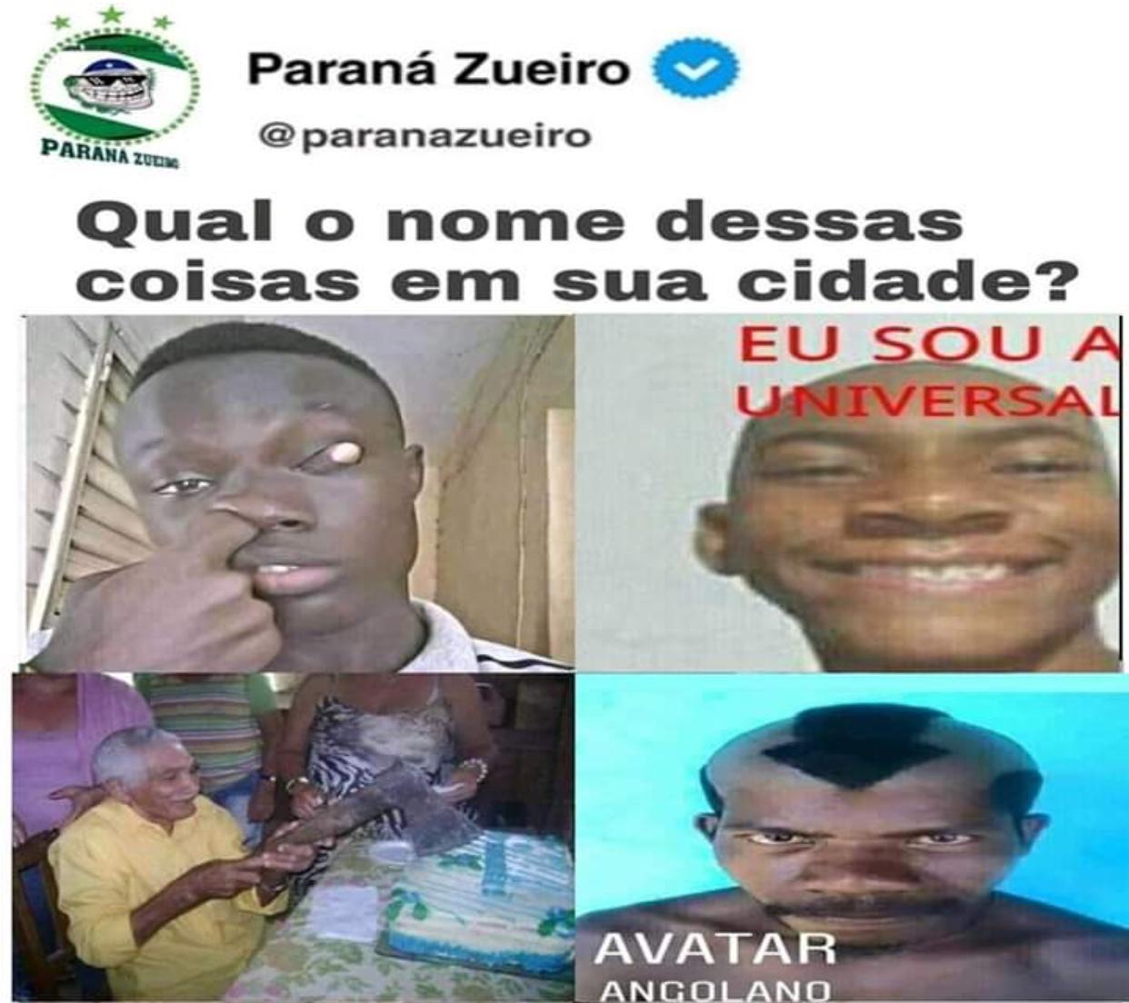 Avatar Angolano - meme