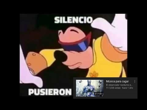 ¡¡¡SILENCIO PUSIERON!!!: Música para cagar By: OneDdYT - meme