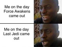 If only they kept me joyful - meme