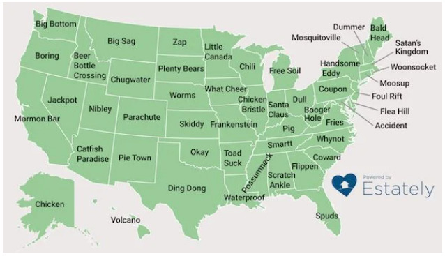 Weirdest town names in America (put your very favorite in the Chat!) :cool: - meme