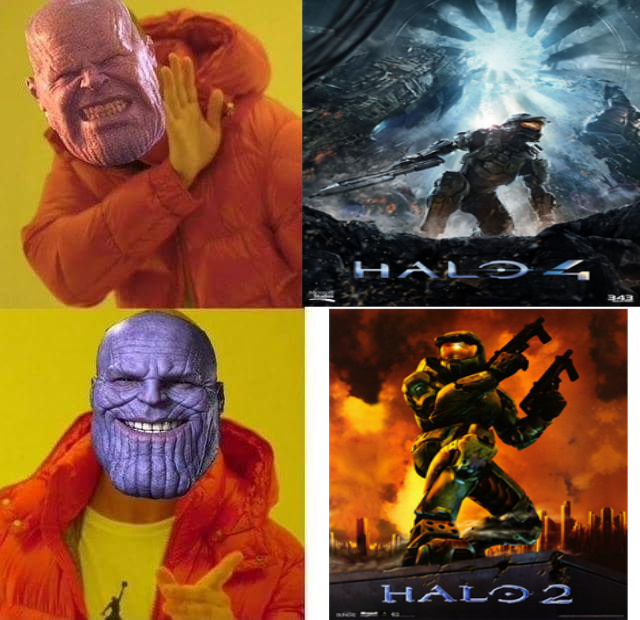 halo 2 is the best halo - meme