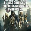 Assassins creed unity actualmente si lo quieres jugar sin bugs, compralo con todos los dlc