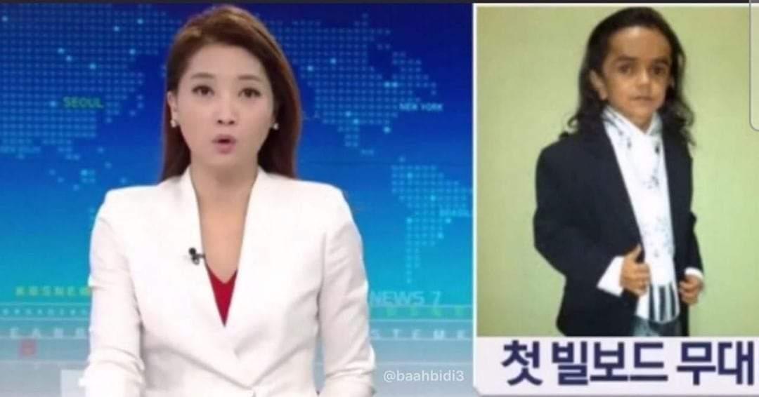 Miguelito funado en Corea XD - meme
