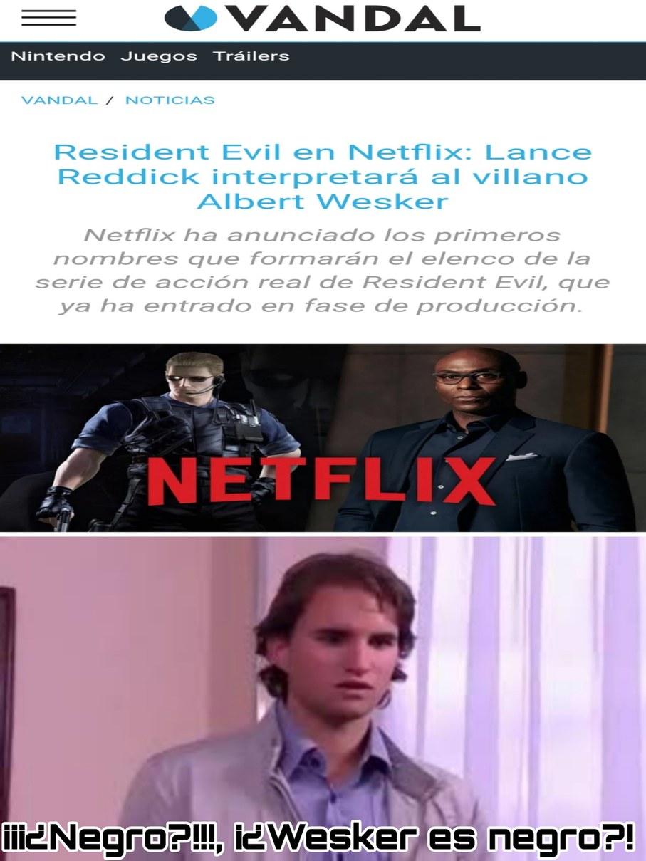 Netflix siendo Netflix - meme