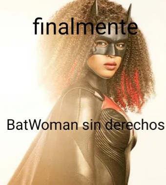 Yo soy negro, pero lo de BatWoman negra es un gilipollez - meme