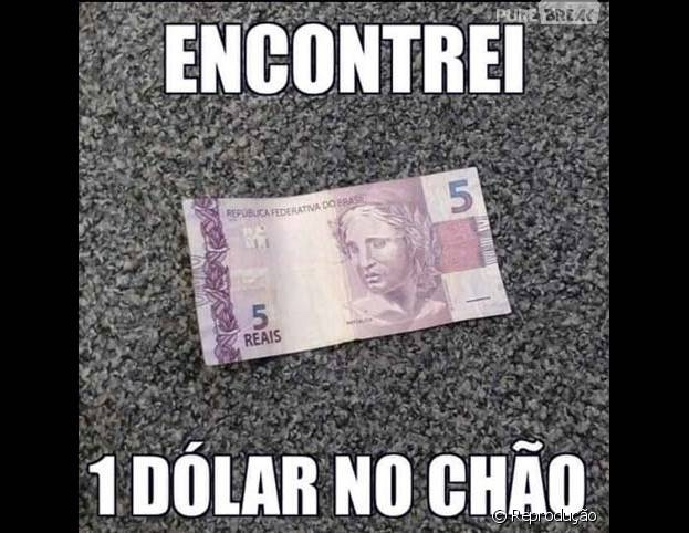 1 dólar - meme