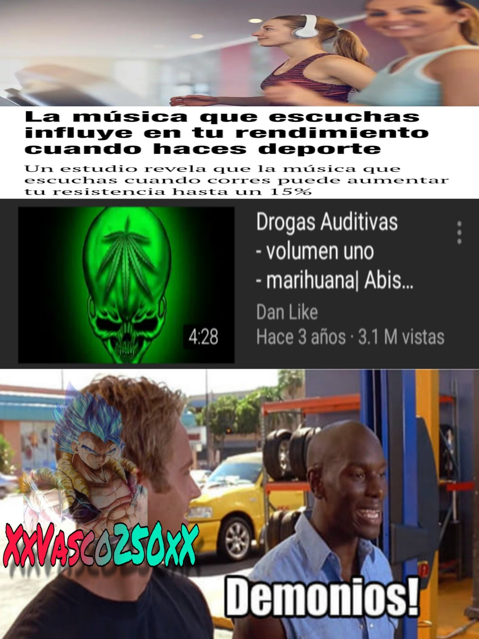 Demonios! - meme